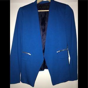 Zara Blazer Electric Blue